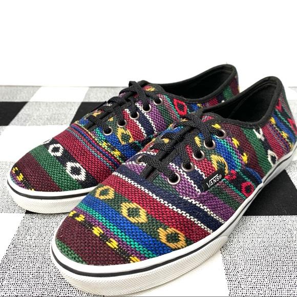 Boho Geometric Colorful Sneakers Sz